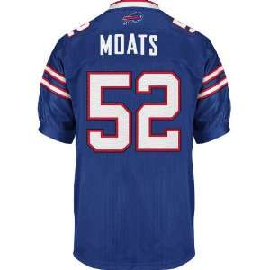 2011 Buffalo Bills jersey #52 Moats blue jerseys size 48