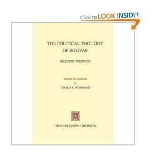 Bolivar Selected Writings Simon Bolivar, Gerald E. Fitzgerald Books