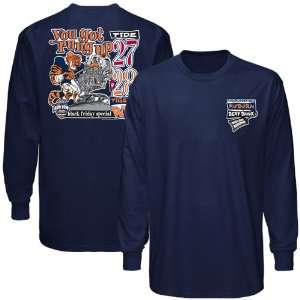 NCAA Auburn Tigers vs. Alabama Crimson Tide Navy Blue 2010 Iron Bowl