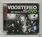 DVD SODA STEREO GIRA ME VERAS VOLVER VIVO NEW SEALED