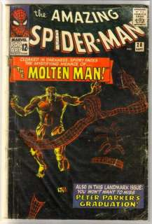 AMAZING SPIDERMAN #28 The Molten Man Comic Book ~ FR