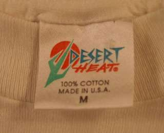 Stardust Las Vegas T Shirt Medium White
