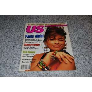 US Magazine   Paula Abdul Cover   June 27, 1991 US