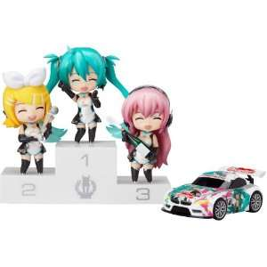 pack figurines Nendoroid Petite Racing Miku Set 7 cm Toys & Games