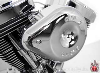 NEW S&S V96 BLACK SUPER E ENGINE MOTOR FITS EVO HARLEY