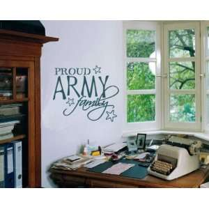 com Proud Army Family Patriotic Vinyl Wall Decal Sticker Mural Quotes
