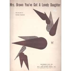 Lovely Daughter: Trevor Peacock, Hermans Hermits (performers): Books