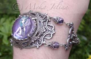 Gothic Angel Fairy Art BRACELET LTD Fae Jewelry Malory