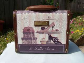 Lee Shoes Sweet Obsession Hard Shell Train Travel Makeup Case Small RC
