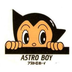 Astro Boy peeking Iron On Transfer for T Shirt ~ heat transfer ~ robot