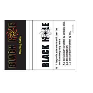 Black Hole Reading Skills  Cards Only: Toys & Games