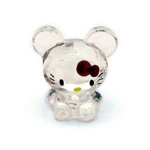 Hello Kitty ~ 2 Chinese Zodiac Glass Ornament   Rat Toys