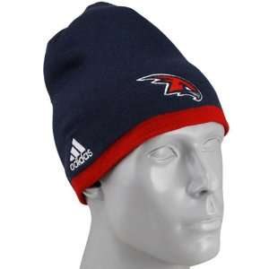 adidas Atlanta Hawks Navy Blue Official Team Knit Beanie