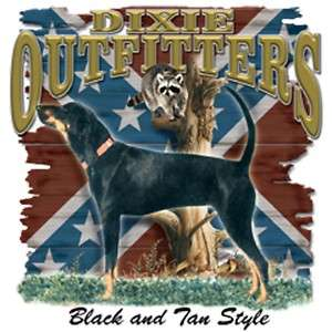 Dixie Rebel Dogs  BLACK & TAN COON HUNTING