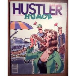 Hustler Humor August 1991 (14): Larry Flint: Books