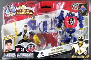 RANGERS SAMURAI LIGHTZORD with GOLD SUPER MEGA RANGER LIGHT ANTONIO