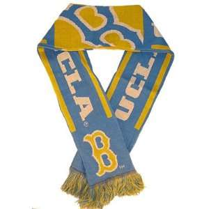 UCLA Bruins College Sports Warm Woven Knit Stripe Team