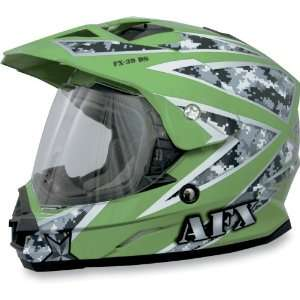 FX 39 Helmet Full Face Unisex Urban Urban Green XX large: Automotive