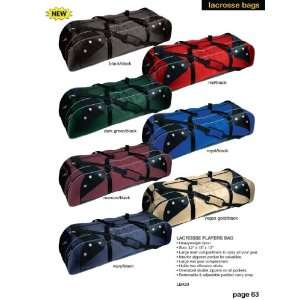 Martin Sports Lacrosse Players Bag 42 X 13 X 12 Holds