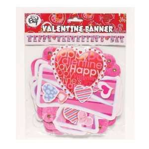 Its In The Bag 83409 Happy Valentines Day Banner   Pack of