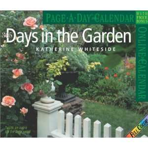Days in the Garden Page A Day Calendar 2004 (Page A Day(r) Calendars