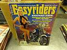 Big Bike Magazine jan 1977, Mustang Seat for Harley Davidson Softail