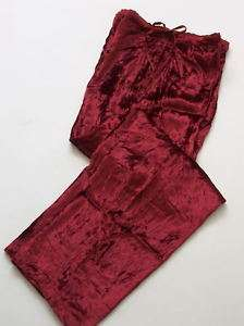 NWT April Cornell Holiday Red Velvet SOCIETY Pants~Sm