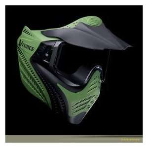 NEW VFORCE VANTAGE PRO PAINTBALL GOGGLE GREEN Sports