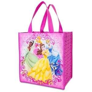 PRINCESS~ECO~TOTE~BAG~Cinderella+Belle+Tiana~Disney