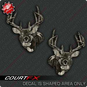 Deer Sticker Set Camo Archery Decal