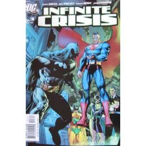 INFINITE CRISIS #3 (of 7), February 2006: JOHNS & JIMENEZ: Books