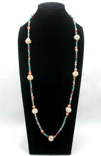 length is 34 35 inches around the neck see the shipping and payments