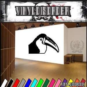 Tucan Bird Birds Animal Animals Vinyl Decal Sticker 004