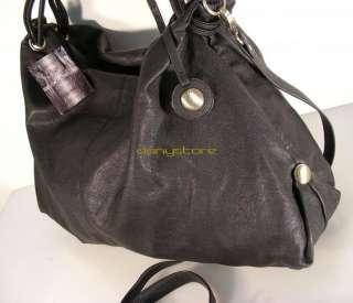 CAVALLI 9033 borsa a spalla bolso +tracolla bag morbida nappa nero