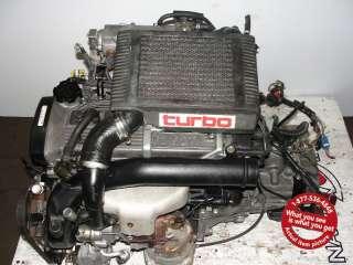FTE TOYOTA STARLET GT ENGINE PASEO TERCEL 4EFTE 4E TURBO MOTOR 4E FTE