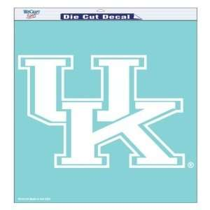Kentucky Wildcats UK NCAA Die Cut Decal 18 X 18 Sports