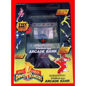 Morphin Power Rangers 12 Electronic Talking Arcade Bank: Toys & Games