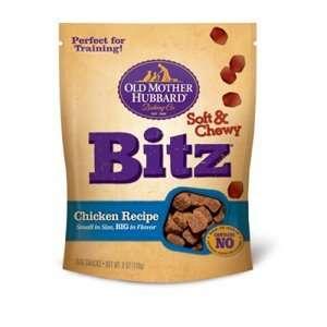 Old Mother Hubbard Chicken Bitz Chewy Dog Treats, 6 oz   8