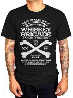 Brigade T Shirt Rockabilly Tattoo Punk Greaser Retro New