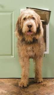 PPA00 10960 Petsafe Freedom Plastic Pet Dog Door Large