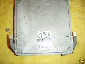1993 MAZDA MX6 2.5L ENGINE COMPUTER ECU ECM KL0118881C