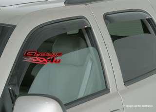 07 10 Chevy Avalanche/Silverado Vent Window Visor 4pc