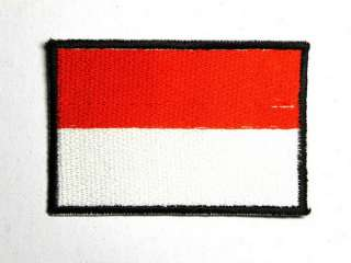 POLAND EMBLEM BADGE FLAG IRON ON PATCH EMBROIDERED I042