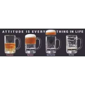 Novelty Drinking Humor College Poster Print 12x36: Home & Kitchen