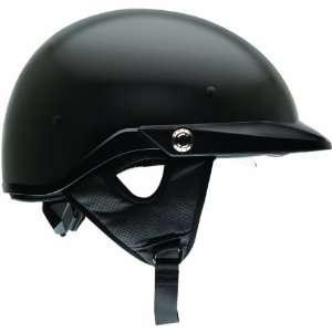 Bell Solid Pit Boss Harley Motorcycle Helmet   Matte Black