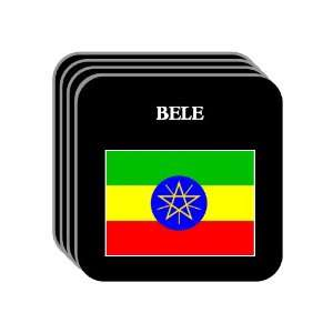 Ethiopia   BELE Set of 4 Mini Mousepad Coasters