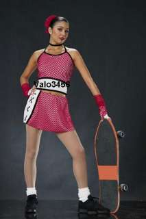 KNOCKOUT Cheer Hip Hop 4pc. Dance Dress Costume AM