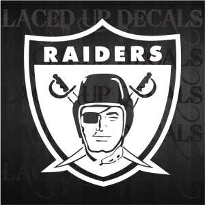 oakland raiders black hole truck car window vinyl decal