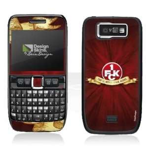 Design Skins for Nokia E63   1. FCK   You will never walk
