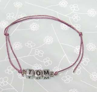 Friendship Bracelet   5 Name Options   Nathan Tom Max Siva Jay
